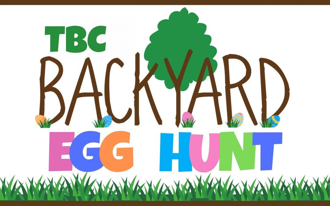 Backyard Egg Hunt