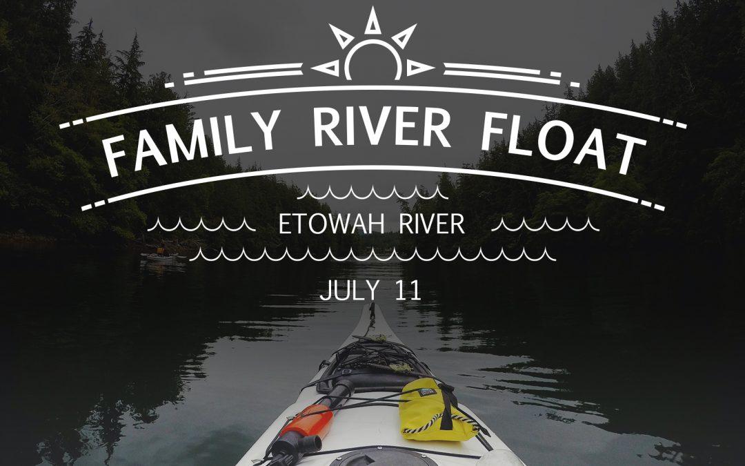 Family River Float