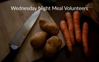 Wednesday Night Meal Volunteers